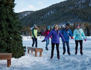 Ice Skating Breckenridge Summit County Activities