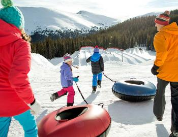 Keystone Winter Activities Tubing