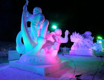 International Snow Sculpture Championships Breckenridge 2020