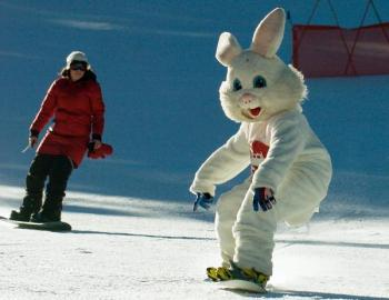 Arapahoe Basin Egg Hunt