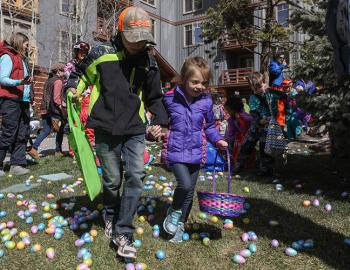 World's Largest Easter Egg Hunt