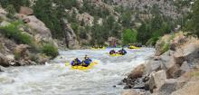 White Water Rafting In and Near Summit County