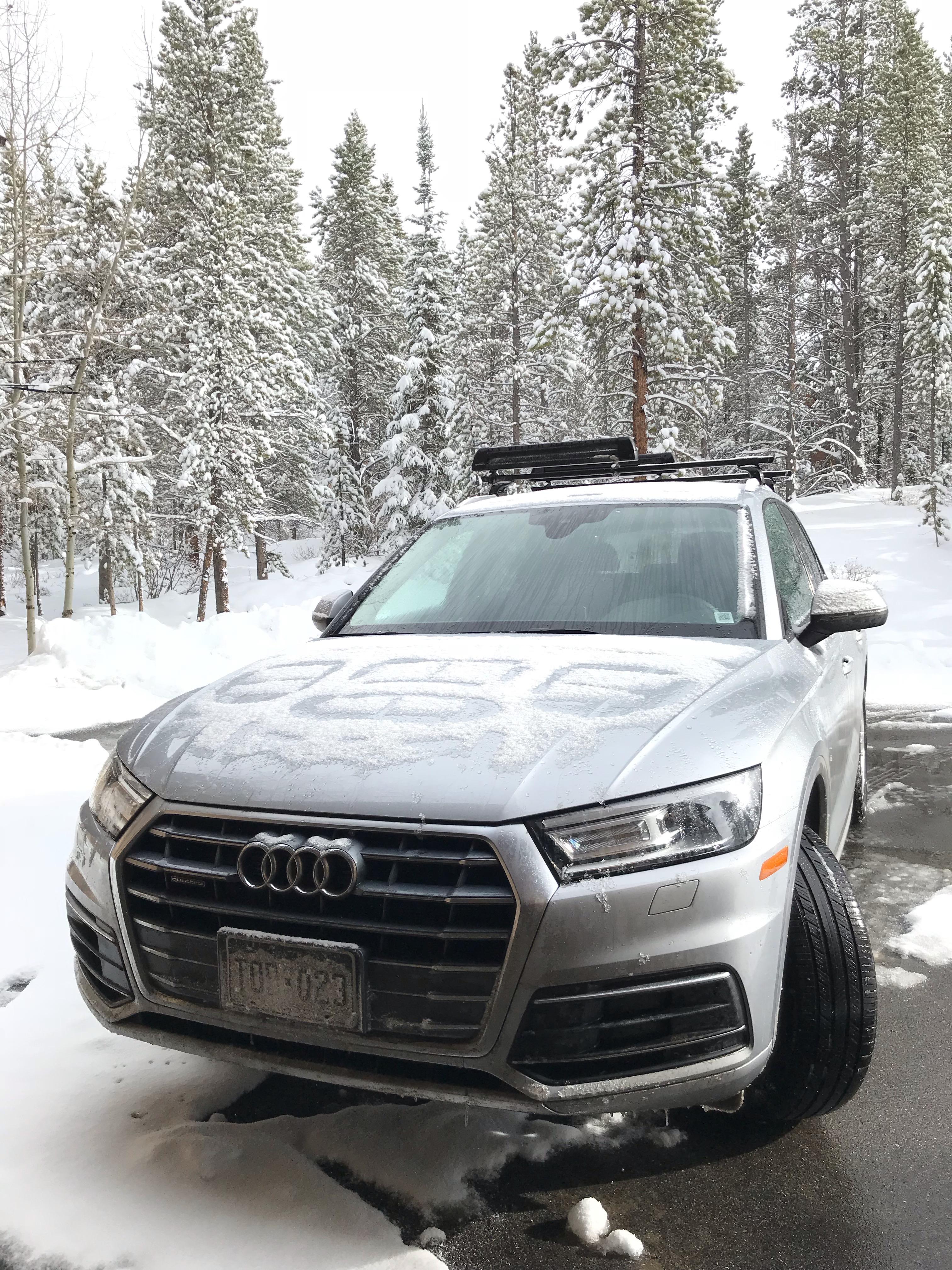 Silver Car by Audi Denver Car Rentals Transportation
