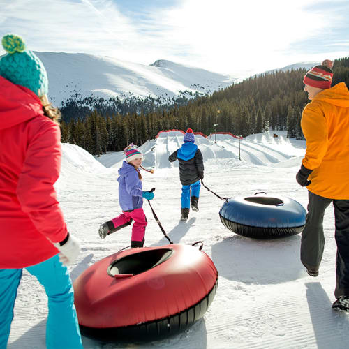 Keystone Resort Tubing Kid-Friendly